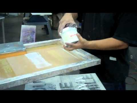How to Screen Print - Deluxe Screen Printing Los Angeles