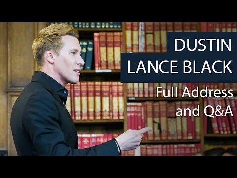 Dustin Lance Black | Full Address and Q&A | Oxford Union