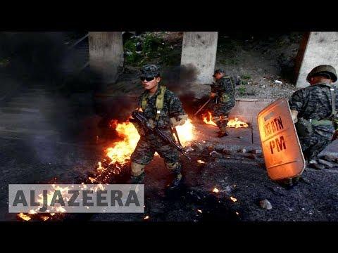 Honduras opposition leader calls for new election