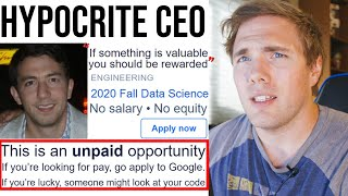 The Hypocrisy of this CEO is INSANE...| #grindreel