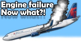 What PILOTS do AFTER the Engine FAILS in Cruise?!!