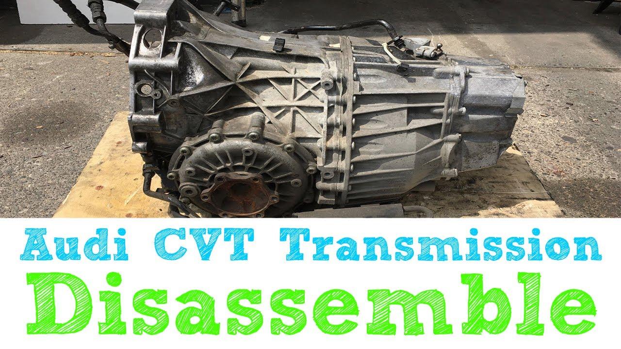 Audi CVT Disassemble JTT 02-07 A4 A6 GGT FSE FWD