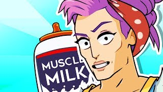Yo Mama so Strong! Milk