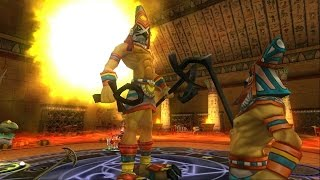 Wizard101: New Ra Boss [Wooden Skeleton Key Boss]