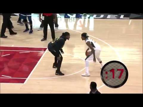 Atlanta Hawks Fan Contest: Steal the ball from Hot Sauce to win a new set of tires