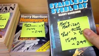 How to sell on eBay - Sorting my huge haul of Sci-Fi books to sell