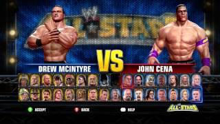 Full WWE ALL STARS ROSTER