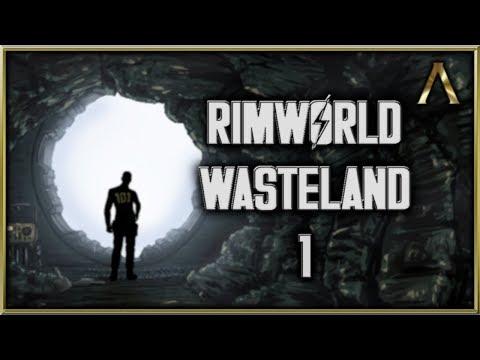 RimWorld Wasteland - Fallout Vault Colony Pt.1 -