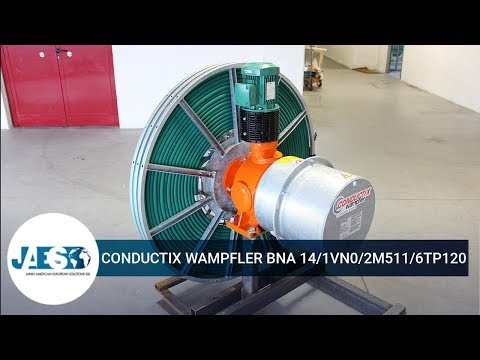 CONDUCTIX WAMPFLER BNA 14/1VN0/2M511/6TP120 - Cable Reel - Avvolgicavo
