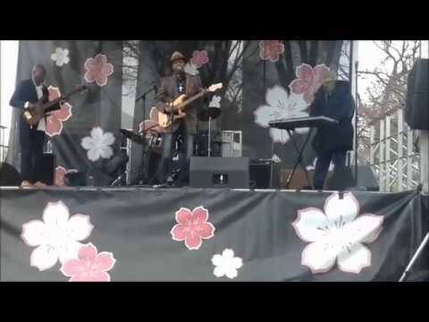 James Terrell live at cherry blossom parade