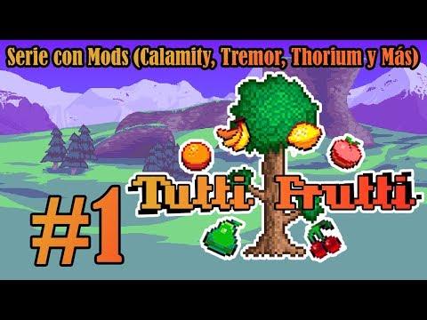 Un Tutti Frutti de Mods - Terraria Tutti Frutti Co-op [P1]