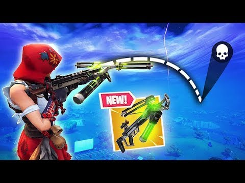 *NEW* CROSSBOW IS CRAZY! - Fortnite Funny Fails and WTF Moments! #363 thumbnail