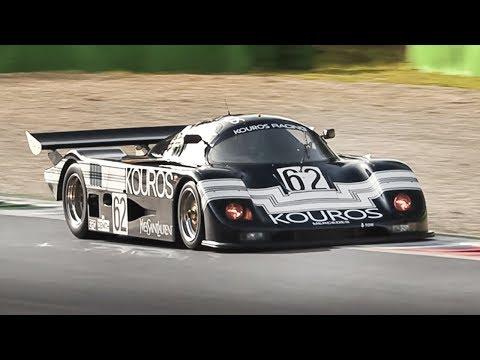 1986 Sauber C8 Group C: Mercedes 5.0 Twin-Turbo V8 Roar At Monza Circuit!