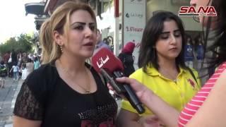 В СИРИИ НЕТ ВОЙНЫ - Рынки в Ид, Дамаск, 10.09.2016 (أسواق العيد في دمشق)