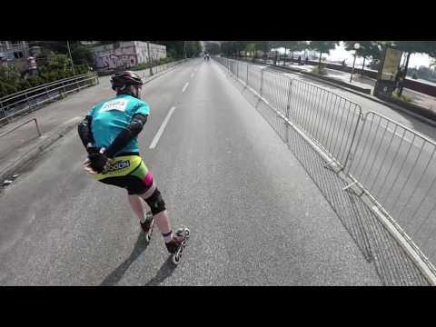 Hamburg Hella Halbmarathon 2016 Inline Skating