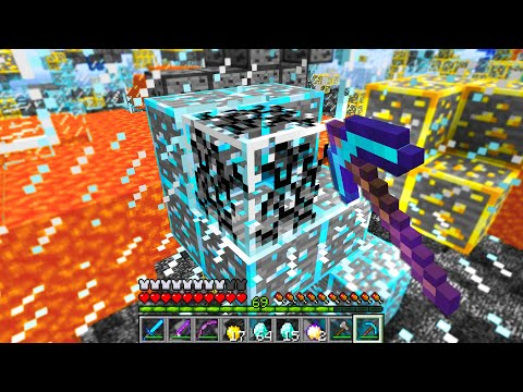Minecraft UHC But The Entire World Is GLASS..