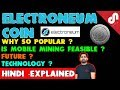 Electroneum Coin (ETN) - Why So Popular ? Mobile Mining - Is it Possible? [Hindi]