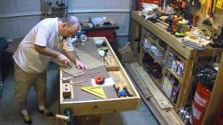 Time Lapse - Prototyping The Rocking Chair Cradle
