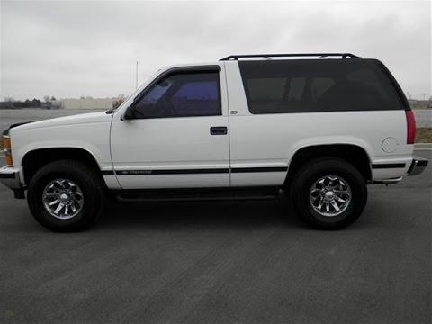 Sold 1998 Chevrolet Tahoe Ls 4x4 2 Door 5 3 V 8 141k White