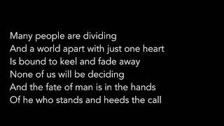 Greta Van Fleet - Black Smoke Rising (Lyrics)