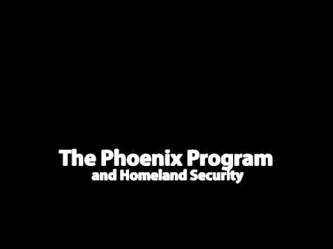 The Phoenix Program and Development of Homeland Security (Audio)
