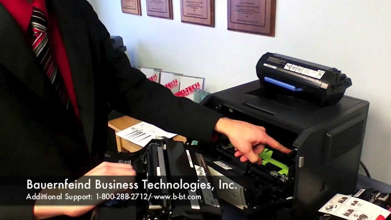 Changing toner and drum on Konica Minolta Bizhub 4700P or