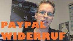 Paypal Erstattung nach einem Widerruf - was ist zu beachten - just-SOUND CarHifi Onlineshop