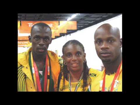 Asafa Powell interview after the 100 M