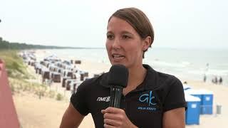 Interview mit Anja Knapp - 1. Bitburger 0,0% Triathlon-Bundesliga Ostseebad Binz