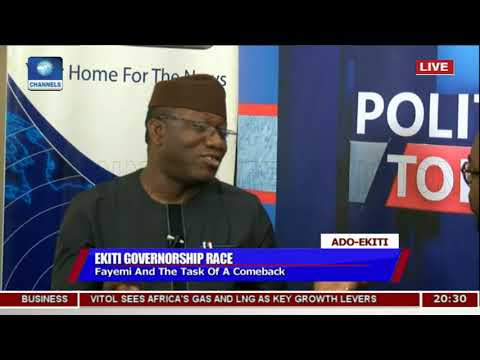 Ayo Fayose Is An Entertainer - Kayode Fayemi