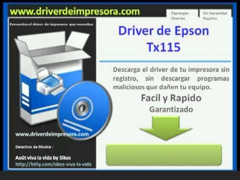 DA EPSON TX115 BAIXAR STYLUS IMPRESSORA DRIVER