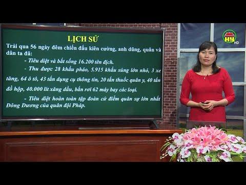 Dạy học truyền hình: Môn Lịch sử lớp 5, bài 1