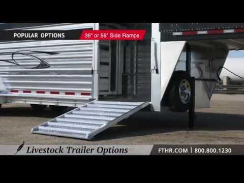 Featherlite Livestock Trailer Options