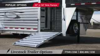 Featherlite Livestock Trailer Options