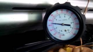 измерение давления топлива OPEL ASTRA H