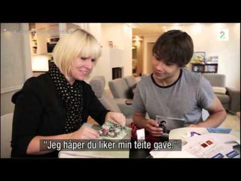Alexander Rybak in TV-show Skogheim flytter inn (Skogheim moves in). 28.02.2012