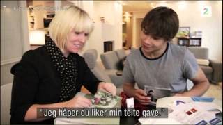 "Alexander Rybak in TV-show ""Skogheim flytter inn"" (Skogheim moves in). 28.02.2012"