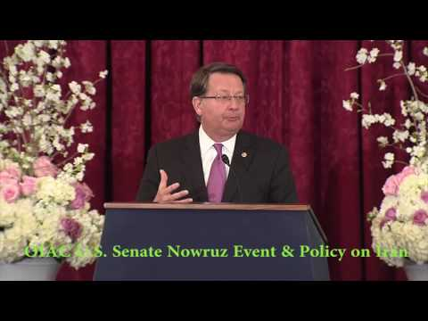 Sen. Gary Peters (D-MI) Speaks at OIAC Senate Nowruz & Iran Human  Rights and Democracy Briefing.
