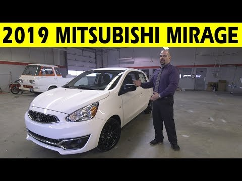 2019 Mitsubishi Mirage Limited Edition Exterior & Interior Walkaround Mp3