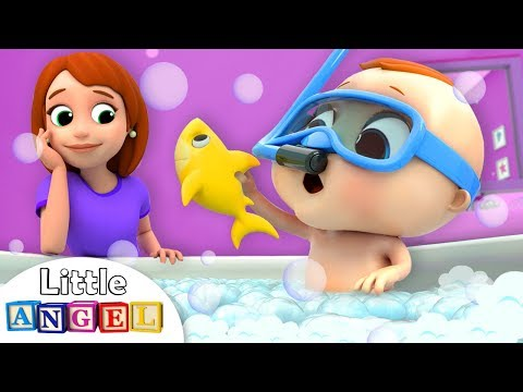 bath-time-song-with-baby-john-|-nursery-rhymes-&-kids-songs-little-angel