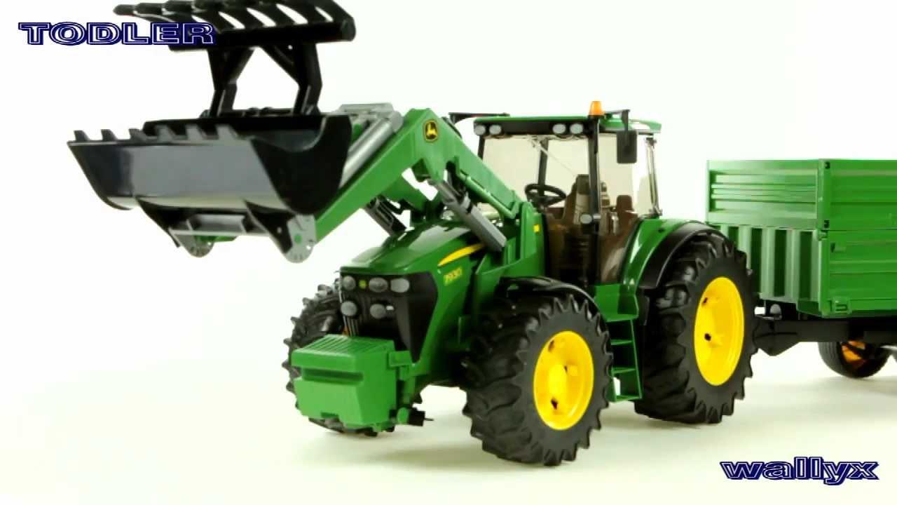 bruder 03055 traktor john deere 7930 z adowark czo ow i. Black Bedroom Furniture Sets. Home Design Ideas