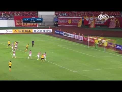 Ante Covic's Penalty save Vs Guangzhou Evergrande