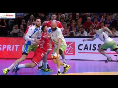 Slovenija - Hrvaška - SP 2017 - zadnjih 12 minut - 1. del
