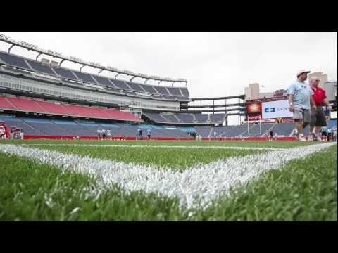 New England Patriots Report to Work after NFL Lockout Ends