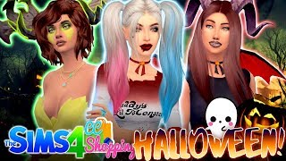 🎃HALLOWEEN CC SHOPPING! 🛍 (Best Outfits/decorations w/ LINKS!) 🎃