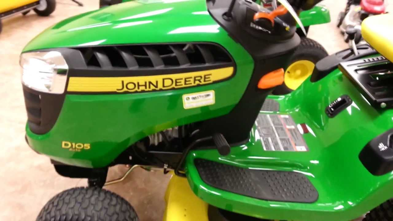 John Deere D170 Diagram Electrical Wiring Walkaround Of A New D105 Lawn Tractor Youtube Parts