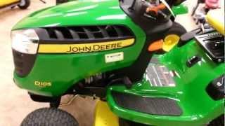 Walkaround Of a New John Deere D105 Lawn Tractor