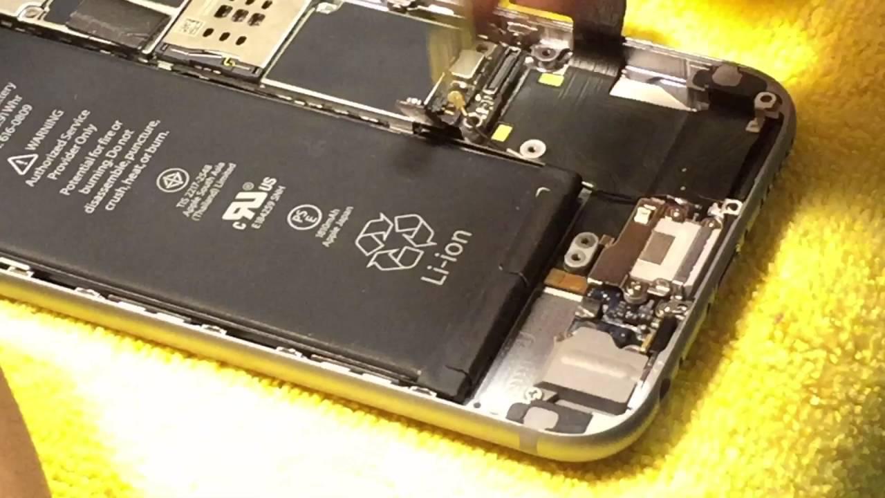 68770551e06 Cómo reparar centro de carga de iPhone 6 / Taller de Mobipop Tijuana -  YouTube