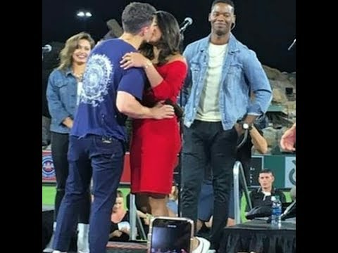 Priyanka Chopra Hot Latest Kiss to Birthday Boy Nick Jonas In Public
