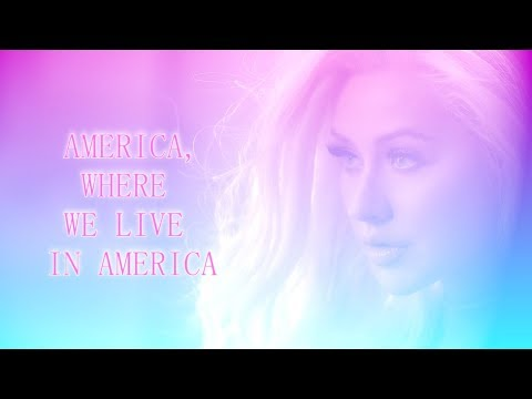 Christina Aguilera - America (Served Like A Girl) with LYRICS